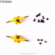 FTK0004 Wholesale Yellow 29mm or 32mm Fingerboard Truck