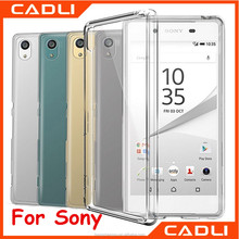 Cheaper Silicone Transparent Slim Clear TPU Phone Cases For Sony Xperia Z1 Z2