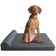 2017 New Design Wholesale Washable Memory Foam Pet dog bed