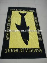 Velour Active Printed Big Beach Towel for Holiday Use