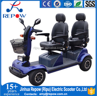 2 Seats Disabled Scooter handicapped scooter electric mobility scooter