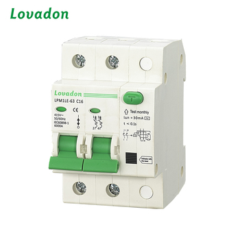 Circuit Breaker Manufacturers 4Amp F1 RCBO Residual Current Circuit Breaker