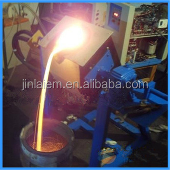 180KG Superior Quality Fast Melting Fast Heating Rotary Furnace for Aluminium Melting (JLZ-90)