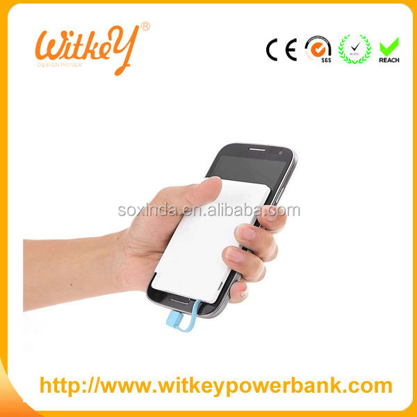 2000mah credit card power bank portable power bank