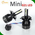 Small replacement led for motorcycle car h1 h3 h4 h7 h11 hb3 hb4 mini led headlight g21 g20 g5 40w 80w high low beam headlamp