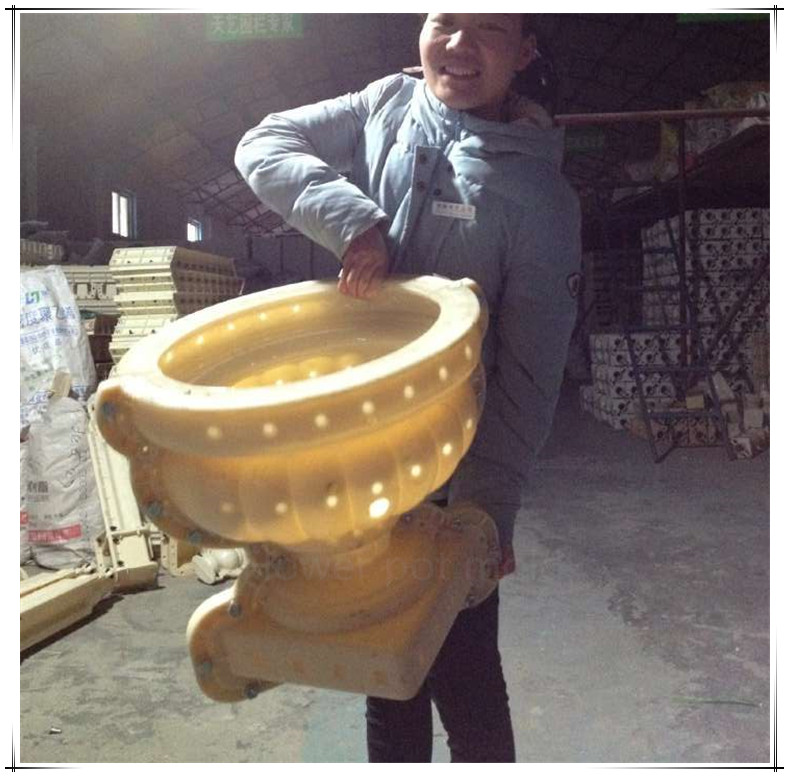 Precast concrete vase column plastic baluster <strong>moulds</strong> for sale