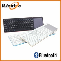 Mini bluetooth keyboard with touch pad and numbers for HP tv