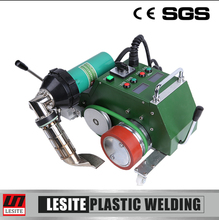 Flex banner jointed pvc membrane welding machine for hot air seam sealing tape