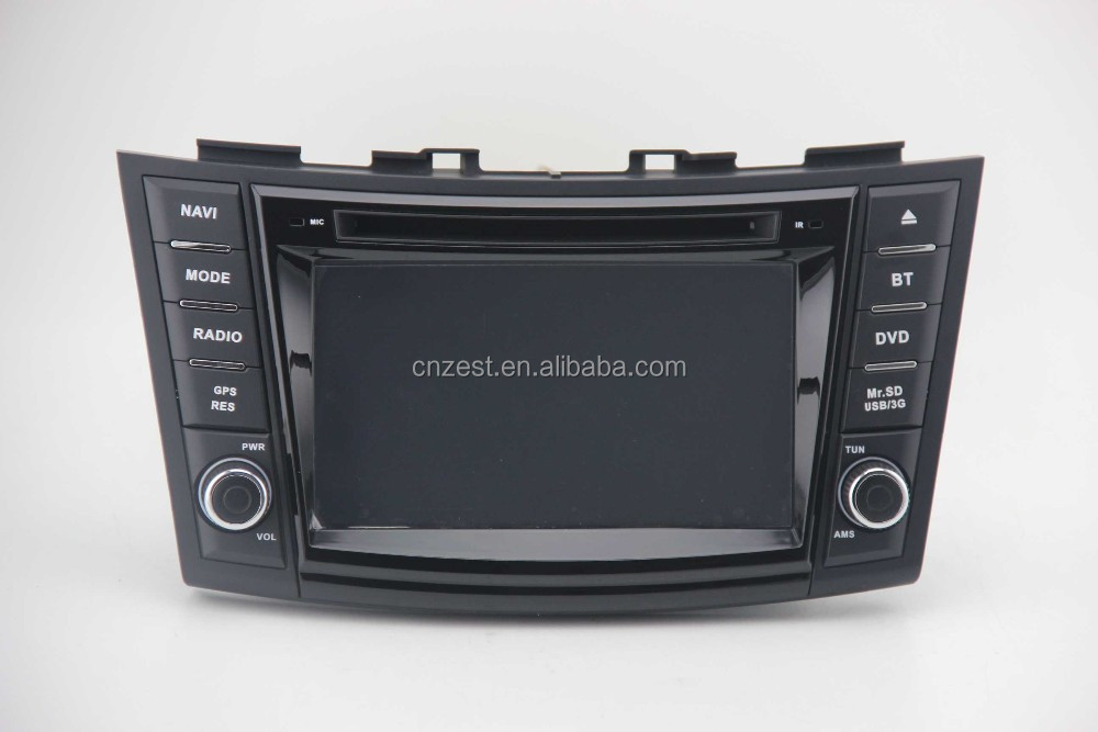 in dash car stereo for suzuki swift car radio system with mp3 player/bluetooth/phonebook/USB/SWC