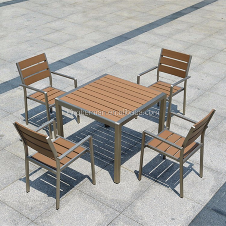 Buy Used Patio Furniture Los Angeles: All Weather Outdoor Furniture Set Patio Used Wood Table