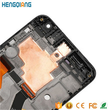 100% Original Factory Price Phone Parts for HTC One E9 LCD Screen with frame Replacement , LCD for HTC E9 Grey