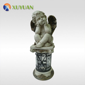 customized holy cupid statue resin figurine/party decorations wedding resin