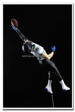 3D Make Custom Rugby Player Action Figure For Football Fans Accept OEM