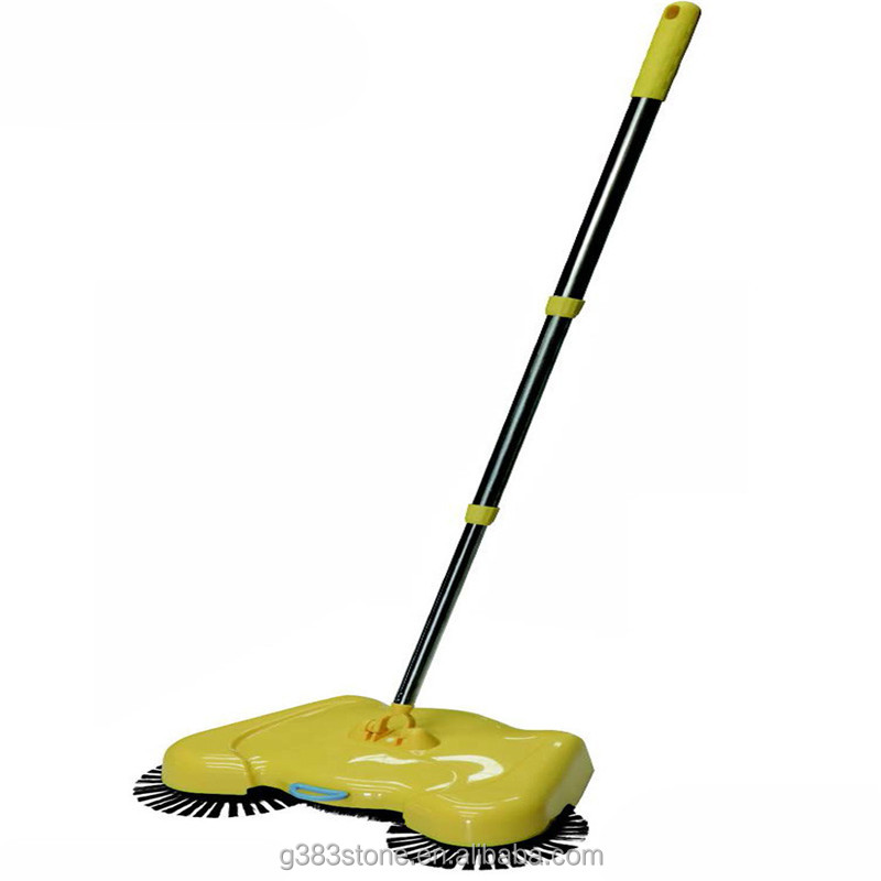 Hand push type sweeping machine/handheld floor sweeper manual road sweeper manual