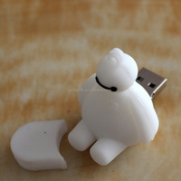Custom 3D Baymax Design Bulk 2G USB Flash Drives Memory