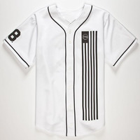 Blank yellow sublimated baseball jersey