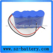 Customized 14.8V 4s medical patient monitor li-ion battery 2200mah for electric shaver battery