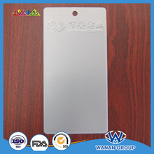 outdoor silver color mirror effect electrostatic powder coating for metal surface