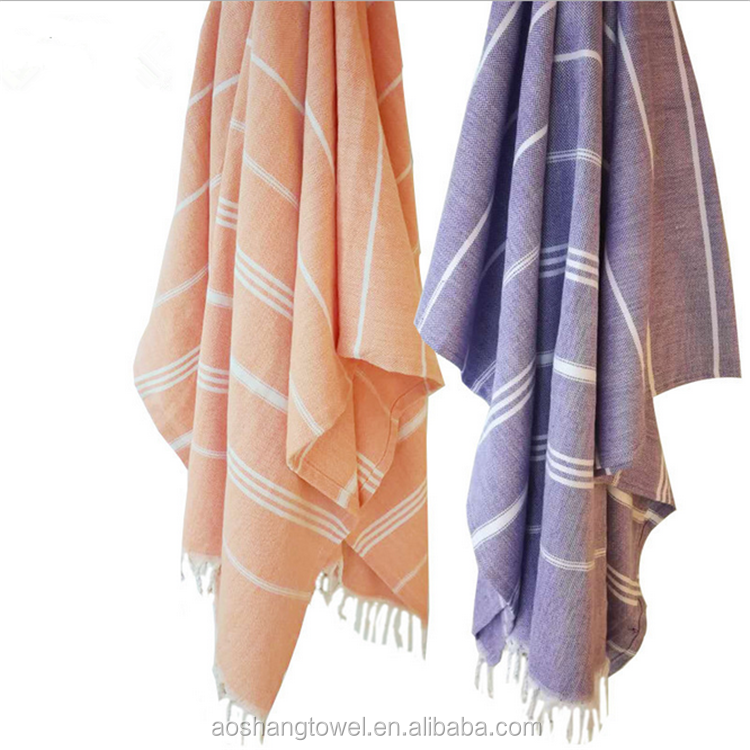wholesale luxury peshtemal hammam bath turkish beach towel with fouta