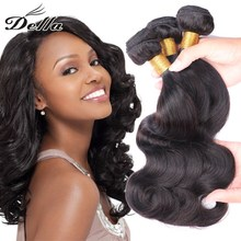 Alibaba <strong>express</strong> golden supplier virgin Brazilian remy wavy hair