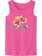 Girls Embroidered sleeveless top