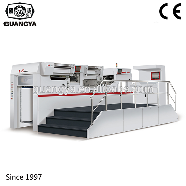 Automatic Computerized Die Cutting And Hot Foil Stamping Machine