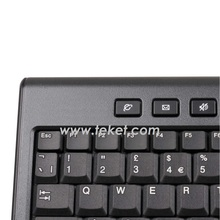 2.4G Wireless Keyboard with Touchpad and USB Receiver K8-CZ(czech/slovakia versi) , Best for Media Center and HTPC
