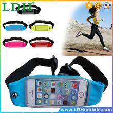 Waist Bag Waterproof Sport Case For SONY Xperia Z4v T3 Z6 Lite Z5+ ZRunning Wallet Mobile Phone Pouch