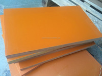 Orange color Insulation board Phenolic paper laminated sheet for test fixture