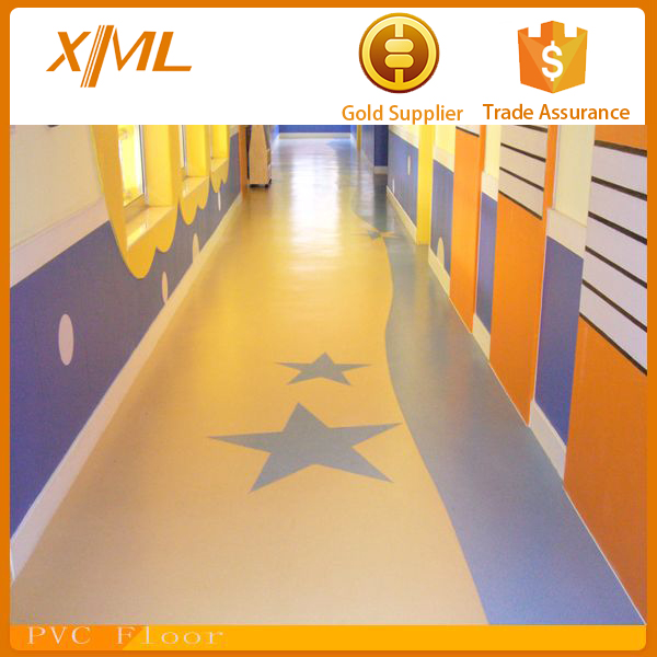 indoor PVC basketball sports wood flooring