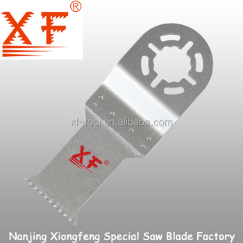 XF-Z026: BI-M for high quality 18TPI metal cutting fein supercut multi tool saw blade