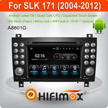 Hifimax 7'' Android 5.1 HD Touch Auto dvd gps for Mercedes Benz SLK- W171 Car GPS Navigation- OBD DAB Quad Cord 16G HD 1080P