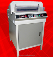 Industrial guillotine paper cutting machine G450VS+, paper cutter trimmer