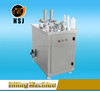 Dual component liquid filling machine for silicone sealant