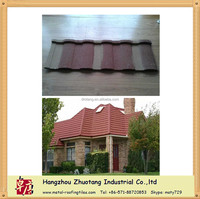 2 or 3 colors mixed very cheap price red clay color metal roofing sheet
