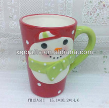 Xiamen star arts and crafts decorated earthenware mugs