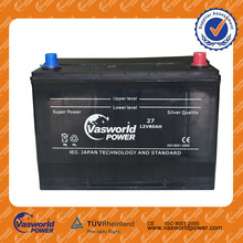 12V 80AH vasworld power Lead maintenance free auto electric Car Battery for car truck N80