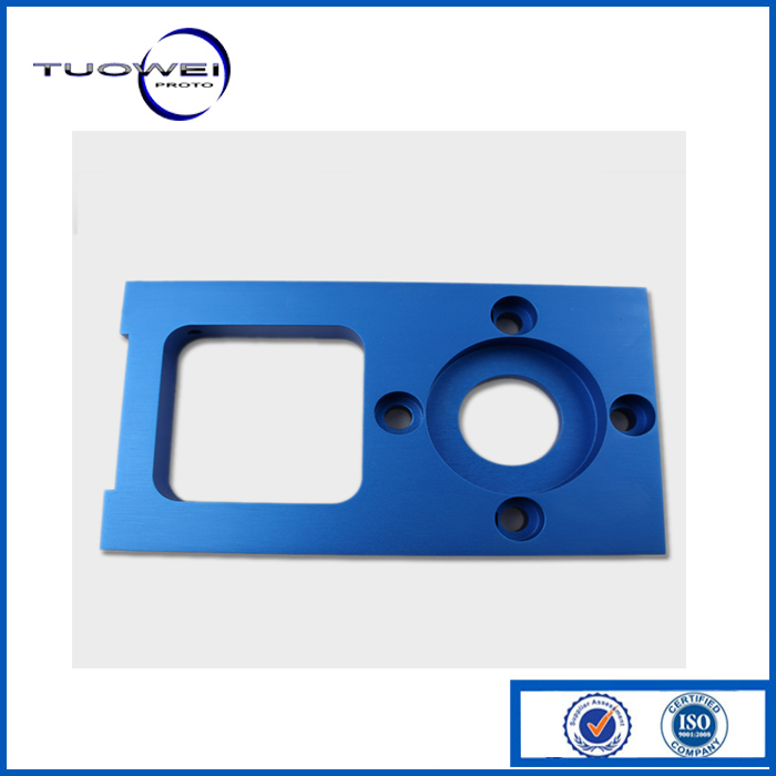 customed precision aluminum 6061/ metal stamping part with sand blasting