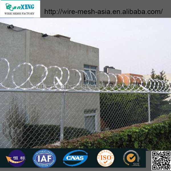 Tennis court fence netting/chain link fence netting