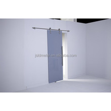 Room Divider Glass Sliding Barn Door,Partition Door