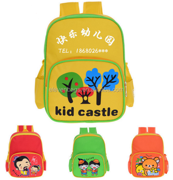 lovely girl picture school children bags