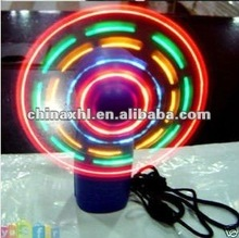 2012 london olympic led color matrix mini fan