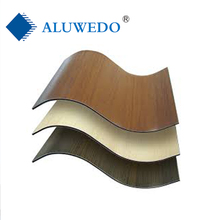 Anti Static/mould proof/fireproof/antibacterial function/outdor usage corrugated acp/acm