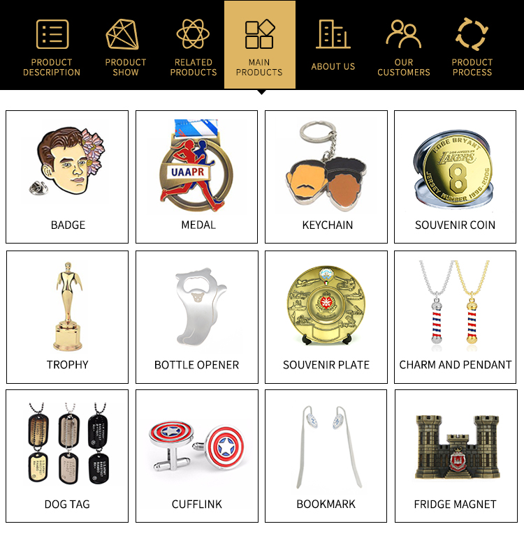 High quality metal custom emoji enamel lapel pins for wholesale