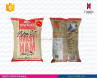 potato chips back seal air filled packaging bag