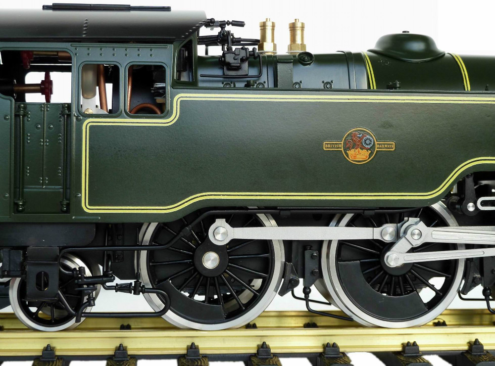 4MT , 1:32 Live Steam locomotive (Brass made)
