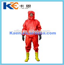 Supply flame resistant chemical pvc full body suit with cheap price