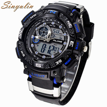 Men's Luxury Analog Digital Shock Watch 2016 New Brand Alike 1389 Watch Men G Style Waterproof Sports Military Watches