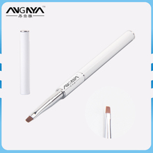 ANY Wholesale Factory White Metal Handle UV Gel Nail Art Brush
