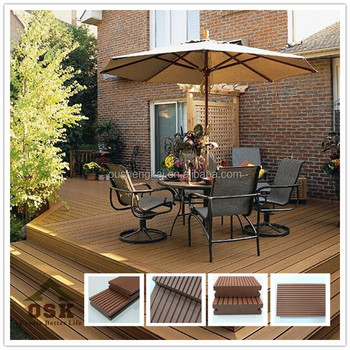 China high quality eco friendly wooden floor tiles wpc decking wpc wooden floor for wholesales